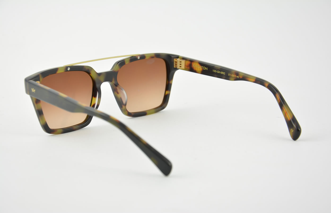 Glasses Frames Kingston : AM Eyewear - Kingston - Green Havana
