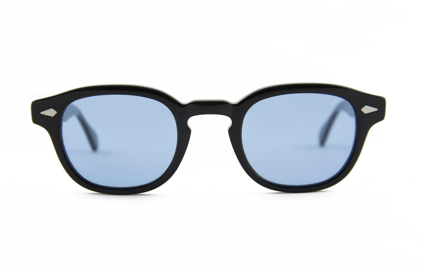 Moscot Lemtosh Black Con Lenti Azzurre
